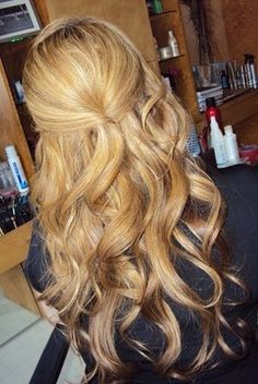 Lovely hair done