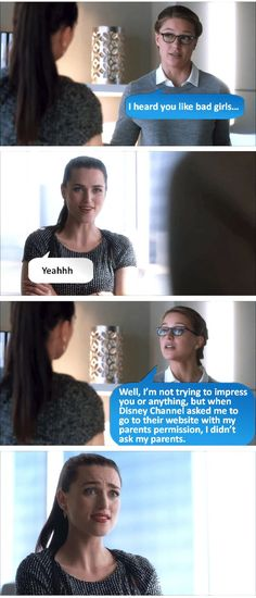 """""""If Tumblr can just give me Supercorp fodder like this for the rest of my life that would be great"""""""
