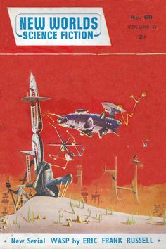 New Worlds Science Fiction. No.69 March.1958 Cover Art. Brian Lewis