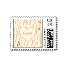 Fallen in Love Postage by InvitationCons