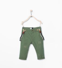 Trousers with seamed suspenders-Trousers-Baby boy (3 months - 3 years)-KIDS | ZARA United States