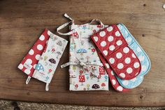 Big Spot and Mushroom were designed together - it's all about the mix and match for coordinating prints | #CathKidston