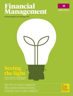 Financial Management, Seeing the Light Cover Illustrated by Noma Bar ::: www.dutchuncle.co.uk/noma-bar-images