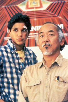 Ralph Macchio & Pat Morita, The Karate Kid (1984)