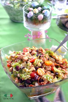"Odchudzona ""sałatka gyros"" z kurczakiem i suszonymi pomidorami – Eat Me Fit Me! :) Pasta Salad, Fit, Ethnic Recipes, Cold Noodle Salads, Noodle Salads, Macaroni Salad"