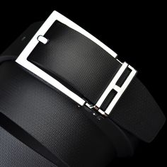 Man Cheap Simple Pin Buckle Genuine Leather Belt Free Shipping