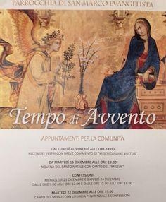 Parrocchia San Marco Udine AVVISI 13 DICEMBRE 2015