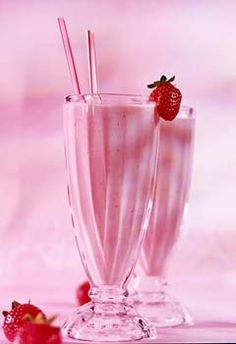 Ahh...Soothing *Pink Strawberry Shake