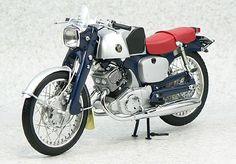 1959 Honda CB92, Blue