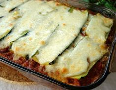 Make and share this Zucchini Lasagna (Lasagne) - Low Carb recipe from Food.com.