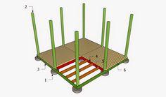 Free Gazebo Plans - How to Build a GAzebo: How to build a gazebo