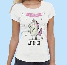 In Unicorns we trust* #illustration #design #art #unicorn #digital