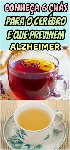 Confira Como Reduzir o Risco da Doença de Alzheimer em alzheimer Spirulina, Natural Medicine, Natural Remedies, Detox, Health Fitness, Food And Drink, Pudding, Pasta, Healthy