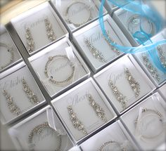 Elisha Joy Jewelry offers jewelry outfitting for the entire bridal party.