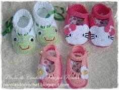 sapatinhos de croche para bebe passo a passo - Pesquisa Google
