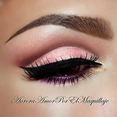 Cut Crease in Pink