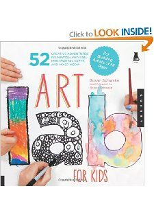 For summer: Art Lab for Kids: 52 Creative Adventures in Drawing, Painting, Printmaking, Paper, and Mixed Media-For Budding Artists $16