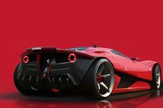 ferrari-ego-concept-9f86a #Ferrari