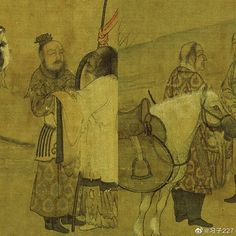 Khitans Figures, Art Blog, Ancient, Painting, Art, Chinese Artwork, Warrior, Vintage, Ancient Paintings