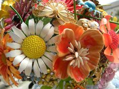 Vintage Brooch Bouquet Ideas  #wedding #fairytale #texas #realwedding #style #rustic #venue #outdoor #lighting #reception #ceremony #weddingdesign #vintage #brooch #bouquet  For more ideas visit www.pinterest.com/cathedraloaks or www.cathedral-oaks.com