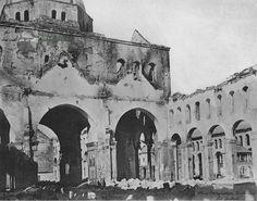 الجامع الاموي بعد الحريق~١٨٩٣