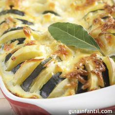Casserole Recipe: Summer Vegetable Tian ~ The term Tian in cooking means to prepare, cook and serve in the same dish! Side Dish Recipes, Vegetable Recipes, Vegetarian Recipes, Dinner Recipes, Cooking Recipes, Healthy Recipes, Vegetable Casserole, Zucchini Casserole, Squash Casserole