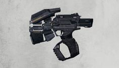 Weapon concepts by tipa_graphic , via Behance