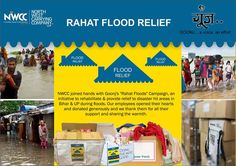 "NWCC employees joined hands with Goonj's ""Rahat Floods"" Campaign, an initiative to rehabilitate & provide relief to disaster-hit areas during floods this year. All Our employees opened their hearts and donated books, shoes, kid's clothes, bed sheets and dry ration generously. We hope that their sufferings come to an end very soon."