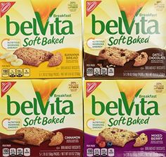 Nabisco, Belvita, Soft Baked Breakfast Biscuits Variety Pack, 8.8oz Boxes (Pack of 4 Different Flavors) - http://sleepychef.com/nabisco-belvita-soft-baked-breakfast-biscuits-variety-pack-8-8oz-boxes-pack-of-4-different-flavors/