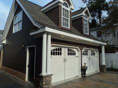 Love this detached garage!