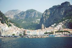 Amalfi Province of Salerno, Italy. So Beautiful.