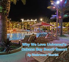 Why we love Universal's Cabana Bay Beach Resort. #Universal #Orlando #CabanaBay