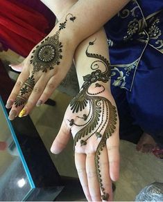 Rajasthani Flower Mehndi Designs For Hands Step By Step. rajhastani mehndi designs are very fa. Traditional Mehndi Designs, Latest Arabic Mehndi Designs, Mehndi Designs 2018, Wedding Mehndi Designs, Simple Mehndi Designs, Mehndi Designs For Hands, Latest Mehndi, Mehndi Designs Front Hand, Pretty Henna Designs