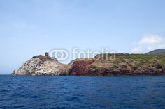 Stock photo available for sale at Fotolia: View Of Capraia Island