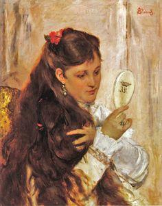 By Alfred Stevens (Belgian painter,