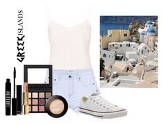 """""""Greece"""" by calliefashion11 on Polyvore featuring Ted Baker, One Teaspoon, Converse, Chanel and Lord & Berry"""