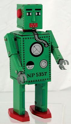 The Lilliput Robot was the first ever mass produced toy robot, and now he's back to light up your life! He even walks with exciting wind-up action. A great robot toy collector's item gift! Sports Toys, Toy Collector, Sci Fi Movies, Tin Toys, Vintage Toys, Vintage Signs, Cool Stuff, Walks, Gender