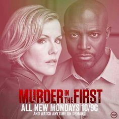 News broke this week that TNT has cancelled another one of its staple programs. This time the victim is Murder in the First, the drama starring Taye Diggs and Kathleen Robertson as two homicide detectives who have looked into a different case each season. John Kim, John Larroquette, Tnt Series, Ezekiel Jones, Kathleen Robertson, Murder In The First, Sky Cinema, Homicide Detective, Turner Classic Movies
