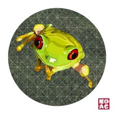 @Frog/ 개구리 Feb/20th/2015 Digital Art, Illustration Art, Artwork, Animals, Work Of Art, Animales, Auguste Rodin Artwork, Animaux, Artworks
