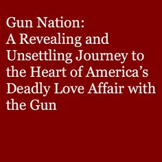 Avoiding stereotypical images of gang members or extremists, Nelson focuses instead on another side of America's gun culture: the mainly white middle classes who sell and purchase guns in vast numbers. #2ndamendment #gunrights #gunlaws #guardian