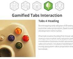 This great-looking template uses game icons to create a tabs layout. It's a cinch to add in your content to help your learners feel like they're scoring big. Business Model Canvas, Presentation Backgrounds, Value Proposition, Instructional Design, Game Icon, Design Reference, Icons, Layout, Content
