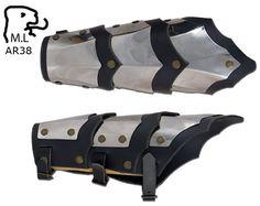 New bracer Medieval Warrior stainless steel Armor Larp AR38