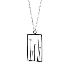 Square Sprout Necklace