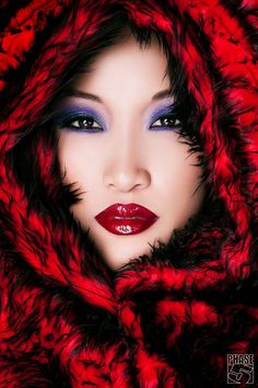 Little Sexy Red Asian  Riding Hood - Ha!!!....LOL
