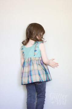 The Mori Dress pattern by E&E