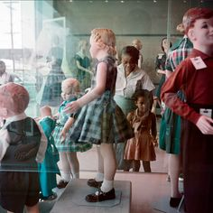 Gordon Parks.  Ondria Tanner and her grandmother window shopping, Mobile, 1956.
