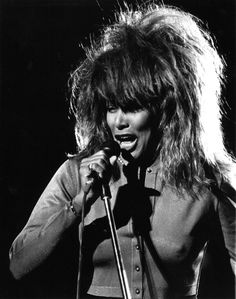 Tina Turner, I had my hair cut that way in the late 80s j.d.o.