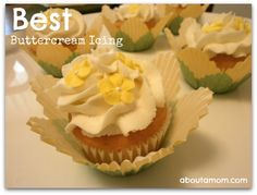 best buttercream icing recipe. Update: made this today fire a birthday cake. Very nice frosting. When adding food coloring, be sure to use Wilton, as regular food coloring tends to water down the icing and makes it appear grainy. It's a keeper.