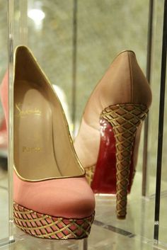 Louboutin ...they look like sugar cones!! sweet.