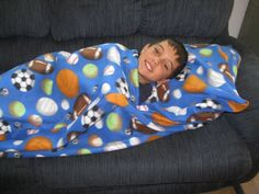 CozzySack on Etsy!  The ultimate blanket. Check it out. A blanket sack with a pocket that u can insert a standard pillow if u wish or just to keep u cozzy.